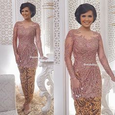 @noviapermanasr .... #ngeyeuksereuh #sunda #kebaya #lace #partydress #beads…