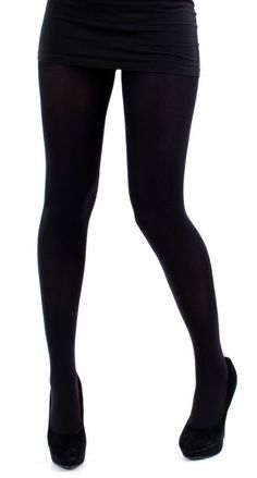 65f83ef0f2e4c Pamela Mann 200 Denier Thick Opaque Tights Black sizes 16 18 or one size reg