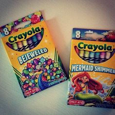 Bought myself some fancy Crayola crayons today ?