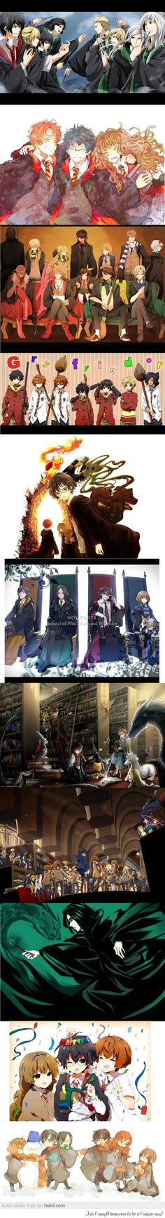 I jst wish dey make anime based on harry potter
