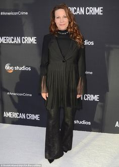 Edge of seventeen: Lili Taylor, on the other hand, channeled Stevie Nicks in a fringed black number