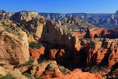 The Bear Mountain trail is one of the most strenuous routes in Sedona, but it leads to big views of red rock country.