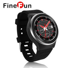 (155.99$)  Know more - http://aigbe.worlditems.win/all/product.php?id=32695495577 - FineFun Hot New S99 GSM 3G Quad Core Android 5.1 Smart Watch With 5.0 MP Camera GPS WiFi Bluetooth V4.0 Pedometer Heart Rate