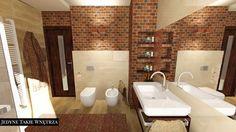 łazienka w cegle - Szukaj w Google