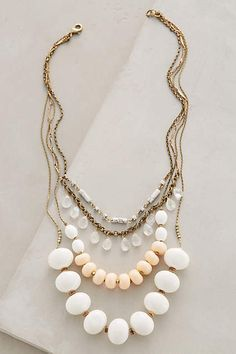 Layered Hemisphere Necklace - anthropologie.eu