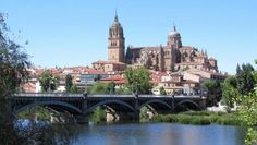 Salamanca - Puente de  Enrique Estevan sobre el Tormes