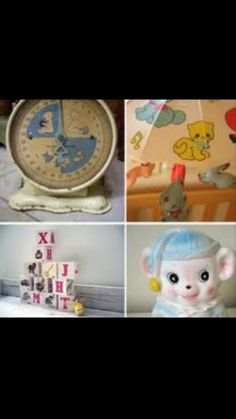 old baby decorations
