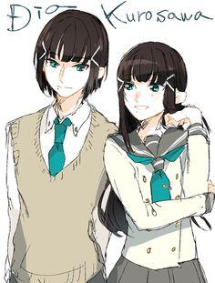 Genderbend Love Live! Sunshine!! Kurosawa Dia