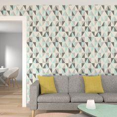 Dynamisez vos murs avec cet intissé ICEBERG. Son coloris vert menthe vous apportera fraîcheur et détente au quotidien.