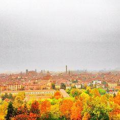 Vista su Bologna da S.Michele in Bosco 12 novembre  instagram, photo by ariannabologna  http://instagram.com/p/R7pesHLXCU/