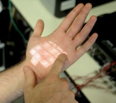 This new technology is in development and promises to turn any surface, including your body, into a fully functioning input device.