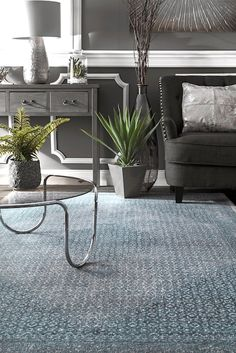 Rugs USA Blue Covent