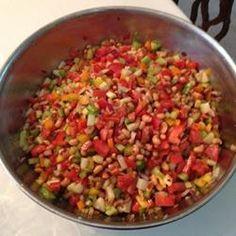 Zesty Hoppin John Salad Allrecipes.com