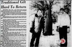 В далеком 1964 году мать фермера Ларри канкла подарила сыну на рождество довольно нужную вещь - хорошие рабочие штаны.. Проходив в них пару дней, мужчина обнаружил, что зимой штаны совершенно непригодны для работы - они просто не спасают от холода. Тогда Ларри упако�