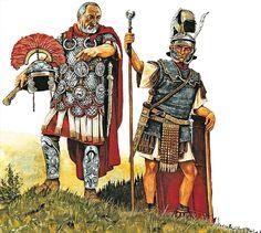 La Pintura y la Guerra. Sursumkorda in memoriam Roman Armor, Arm Armor, Roman History, European History, Ancient Rome, Ancient History, Imperial Legion, Romulus And Remus, Punic Wars