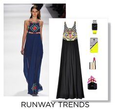 """""""runway maxi trend"""" by im-karla-with-a-k on Polyvore featuring Marc Jacobs, Clarins and Casetify"""