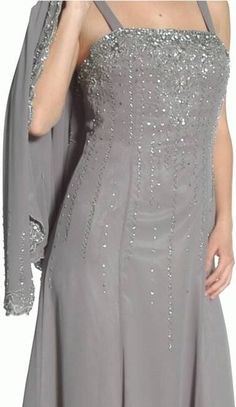 silver gowns for mother of the groom | Details about MOTHER OF THE BRIDE GROOM JACKET DRESS CHURCH PLUS SIZE