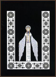 Erté Byzantine 1985 by mpt.1607, via Flickr