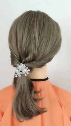 Hairstyle Tutorial 905 – beautiful hair styles for wedding Ponytail Hairstyles, Bride Hairstyles, Cute Hairstyles, Hairstyle Ideas, Bob Hairstyles How To Style, Cool Hairstyles For School, Silky Hair, Smooth Hair, Hairstyle Tutorial