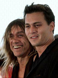 Johnny and Iggy Pop