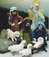 Resultado de imagen para pesebres navideños echos en crochet