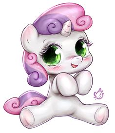 Sweetie Belle by CatMag on DeviantArt Sweetie Belle by CatMag on DeviantArt Dessin My Little Pony, My Little Pony Unicorn, Baby Unicorn, Cute Unicorn, My Little Pony Drawing, Unicorn Painting, Unicorn Drawing, Unicorn Art, Disney Drawings