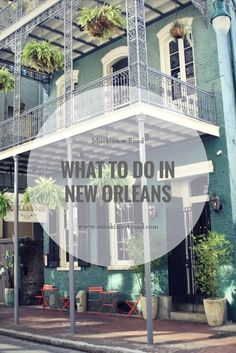 From historic hotels, to trendy restaurants, and remarkable bookstores, New Orleans has much more to offer than red punch drinks and all-night parties.