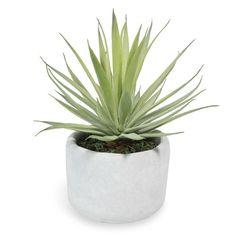 Yucca artificiel en pot H 8 cm