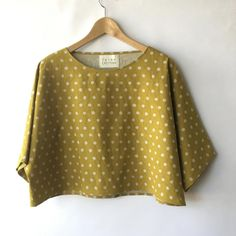The Tomiko is my original, 'kimono tee' pattern that many of you are familiar with. Sewing Clothes, Diy Clothes, Kimono Blouse, Easy Wear, Long Tops, Top Pattern, Slow Fashion, Dressmaking, What To Wear
