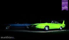 If he catches you, you're through.  #Plymouth #Roadrunner #Fuelicious #Artomobilia #CarPorn #Carmel #VisitHC #OneZone