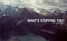 What's stopping you?  (That's right.  Nothing.)