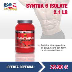 **************¡OFERTA ESPECIAL!*************  http://usafitness.es/es/proteinas-de-suero/1666-syntha-6-isolate-21-lb.html