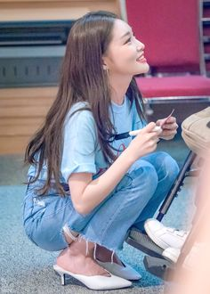 Ni                                                                      Kpop Girl Groups, Korean Girl Groups, Kpop Girls, Chung Ah, Kim Chanmi, Kim Chungha, Kim Hyuna, Ulzzang Korean Girl, K Idol