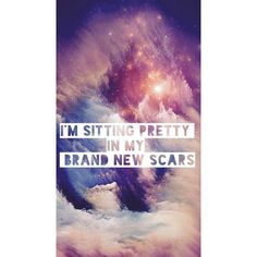Panic! At The Disco ❤ liked on Polyvore featuring phrase, quotes, saying and text