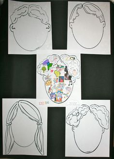 What's On Your Mind? Is a terrific way to get to know your students + these make an easy and awesome bulletin board too! Great activity for the first week of school and a nice ice breaker for students to get to know their new classmates.
