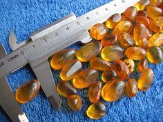 Natural Baltic amber 42 g gr cognac polished stone Butterscotch gemstone 琥珀 gems #HandMade