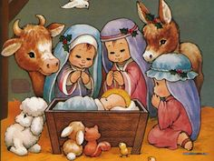 The Christmas Story by Ruth Morehead