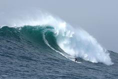 Mavericks surfing.