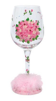 Lolita Love My Wine Glass, Mom's Bouquet >>> Continue to the product at the image link.