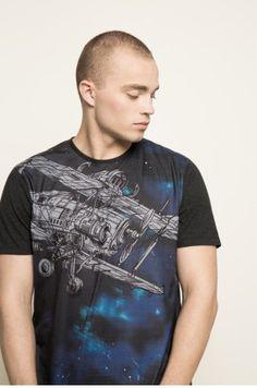 Medicine - T-shirt Rafał Wechterowicz for Medicine kolor czarny RS17-TSM950 - oficjalny sklep MEDICINE online