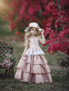 Suzy Dress by Irina Chernousova on Toddler Fashion, Fashion Kids, Party Fashion, Little Girl Dresses, Girls Dresses, Flower Girl Dresses, Dollcake Dresses, Classic Photography, Little Princess