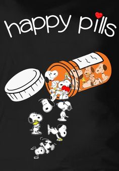 Prescribe Snoopy for guaranteed smile. Take daily.
