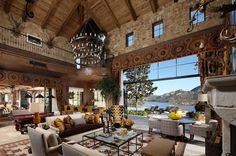 World of Architecture: A Fairy Tale Home, Luxury Villa Del Lago ...