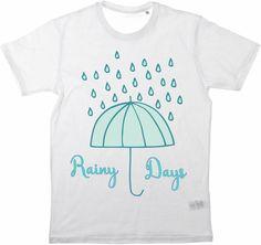 Kinder T-Shirt Rainy Days von MilaLu auf DaWanda.com