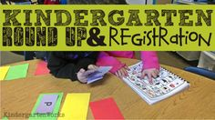 round 'em up! {Kindergarten Parent Brochure Printable}