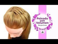 Peinados Semirecogidos con Trenzas para Cabello Largo Faciles y Rapidos - YouTube