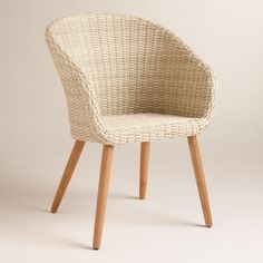 All Weather Wicker Sanya Tub Dining Chairs Set of 2 - v1