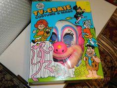 1974 Ben Cooper Bozo Vinyl Halloween Costume in Original Box