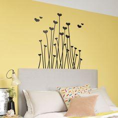 Stickers Muraux: Lovelis. Tiges idéal pour la décoration vitrine par coeur Saint Valentin #saintvalentin #valentin #décoration #vinyle #mur #vitrine #boutique #deco #WebStickersMuraux