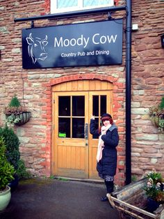 Tuesday lunch at The Moody Cow near Ross-on-Wye